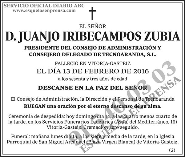 Juanjo Iribecampos Zubia